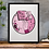 Thumbnail: Half Agony Half Hope Jane Austen Print Pink
