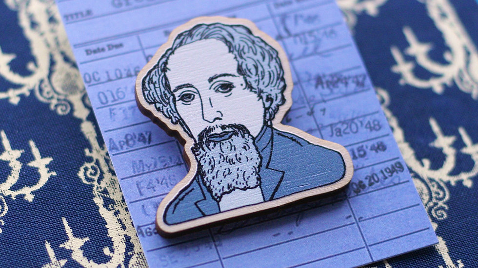Charles Dickens Great Expectations Wooden Pin