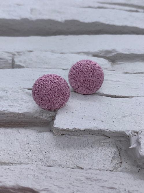 Material Studs - Blush Pink