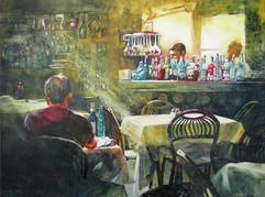 """Late Night Patron"" by Susan Stuller"