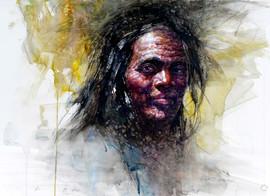 """""""Mountain Man 19"""" by Z. L. Feng"""