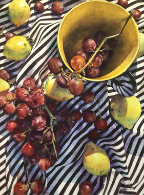 """""""Guava and Grapes"""" by Chris Krupinski"""