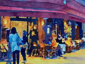 """Cafe de Sevres"" by Marnie Becker"