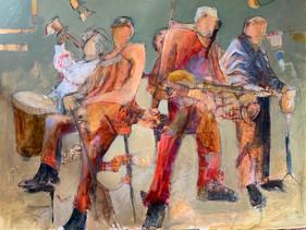 """The Strummers"" by Gari Stephenson"