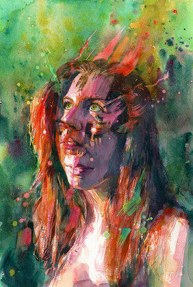 """Blaze"" by Joanna Barnum"