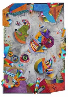 """Saintly Migration"" by Miles Batt II"