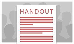 Leter du etter handouts fra tidligere møter?