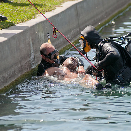 Hold av 7. juni - webinar med Simon Mitchell om prehospital behandling av dykkerulykker