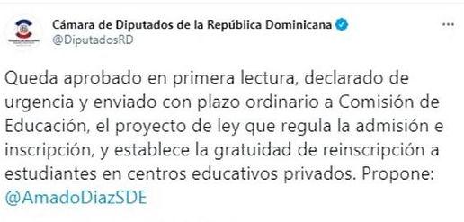 Cero Inscripcion Colegio Privados en Rep