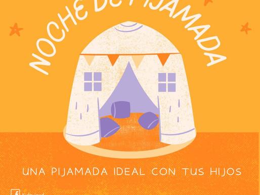 Ideas para una noche de pijamadas