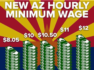 The Consequences of the Arizona Minimum Wage and Paid Time Off Initiative (Prop 206) on CHSRC