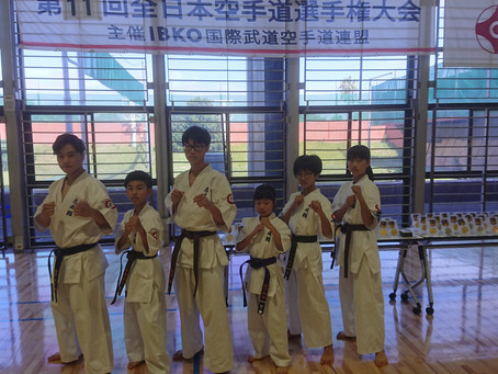 IBKO全日本空手道選手権大会 型の部
