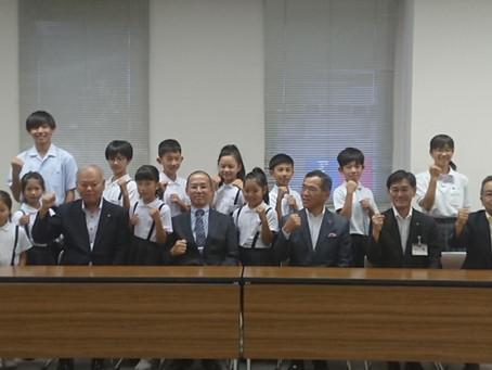 福山市長表敬訪問