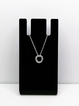 Sterling Silver Knot Pendant