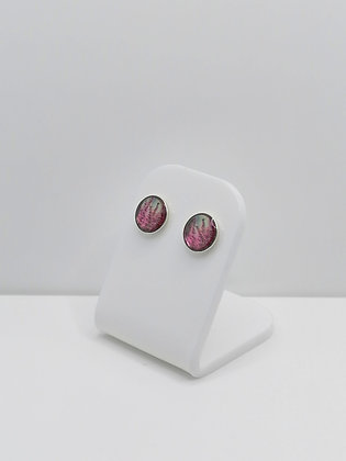 Sterling Silver Heather Studs