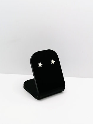 Sterling Silver Small Star Studs