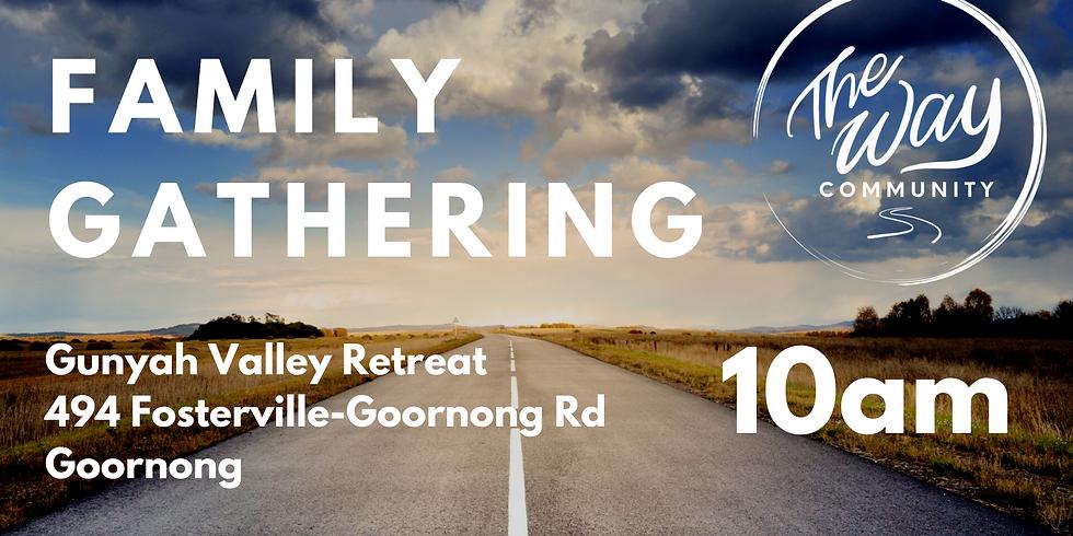 The Way Family Gathering - Sunday July 19 @ 10AM