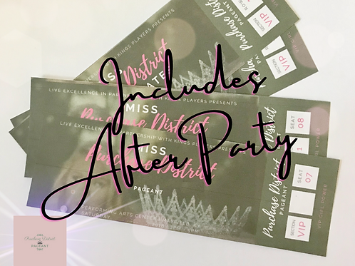 VIP Tickets + After Party