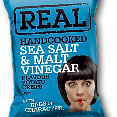 REAL Sea Salt & Malt Vinegar