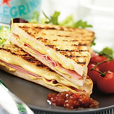 Cheese & Ham Toastie (Kids)