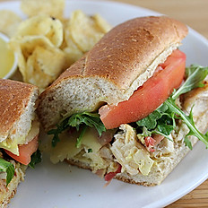 Honey & Mustard Chicken Baguette