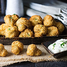 Breaded Garlic Mushrooms