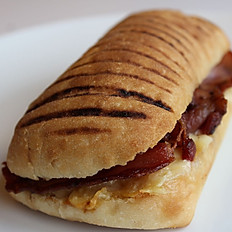 Crispy Bacon & Cheese Panini