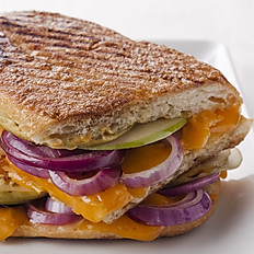 Cheddar Cheese & Red Onion Panini