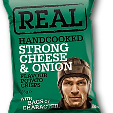 REAL Strong Cheese & Onion