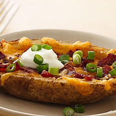 Bacon & Cheese Potato Skin
