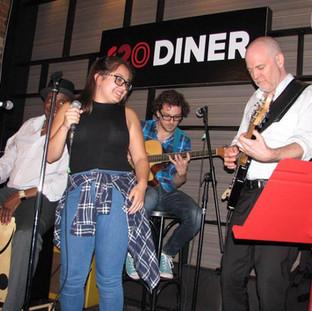 Alicia at 120 Diner; Toronto, ON