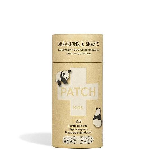 Patch bamboo bandage