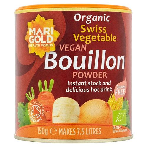 Mari Gold Organic Swiss Vegetable Vegan Bouillon Powder 有機蔬菜素食肉湯粉