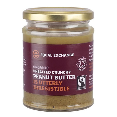 Equal Exchange Organic Unsalted Peanut Butter 有機無鹽花生醬