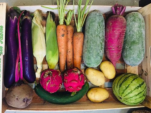 Organic fruits and veggies basket 有機蔬果籃