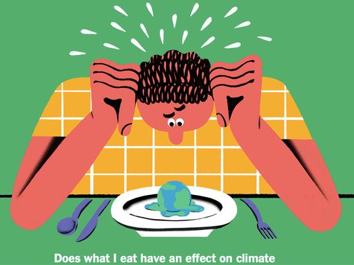 從日常飲食中去應對氣候變化
