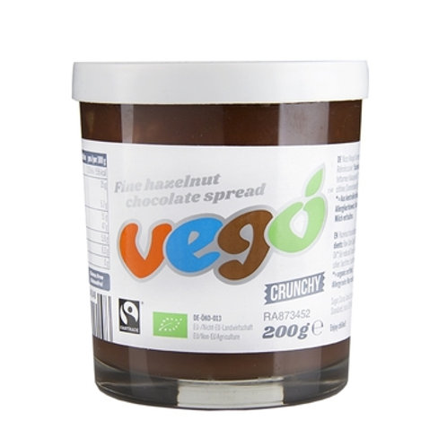 Vego chruchy fine hazelnut coconut spread 粗粒純素榛子朱古力醬
