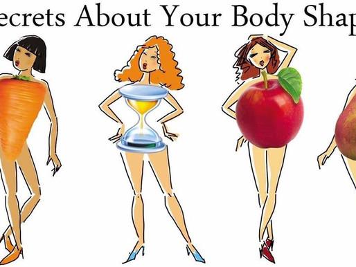 你知道自己是士多啤梨、蘋果、沙漏、平板還是紅蘿蔔身型嗎? Know your body shape!!!