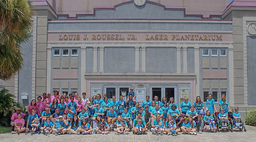Camp Friendship Group Pic - In front of Laser Planetarium