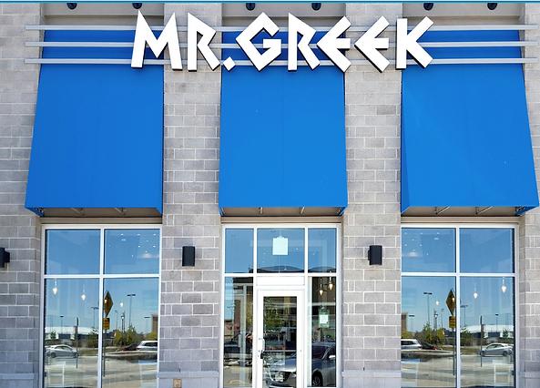 mr greek franchise location in ontario e