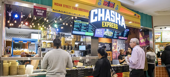 Chaska Indian Street Food - Atrium on Bay Toronto