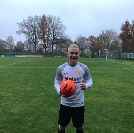 Bjarne spielt weiterhin für unseren TSV Auetal
