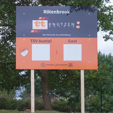 Neue Anzeigetafel für den Rötenbrook