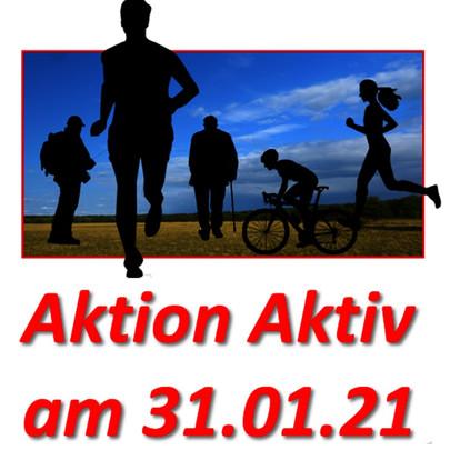 Macht mit bei der 'Aktion Aktiv' vom KSB am 31.01.2021