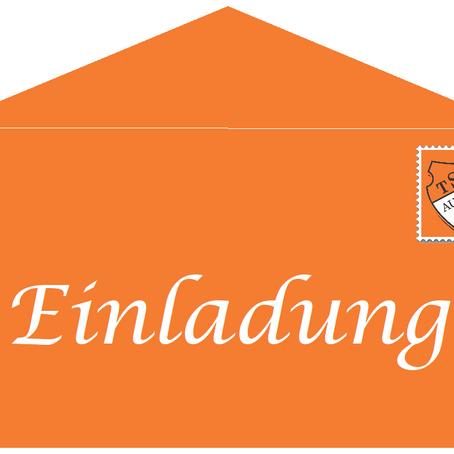 Einladung zur Abteilungsversammlung Trampolin