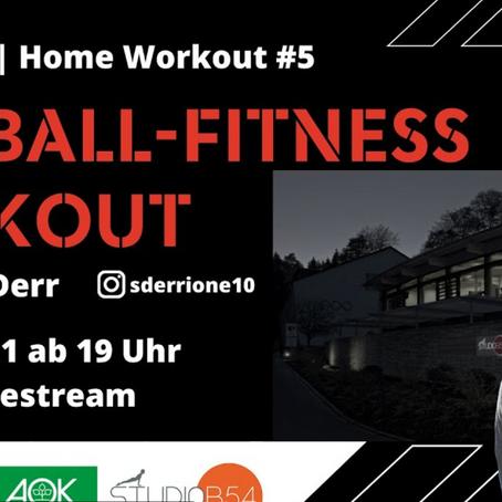 Online-Fitness-Workout vom NFV