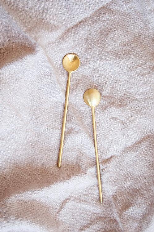 Earthen Brass Stirring Spoon