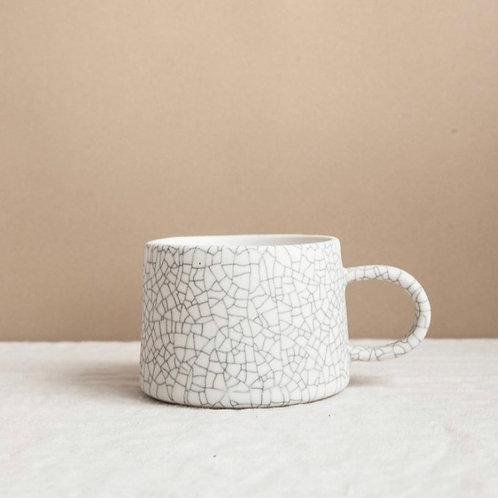 Earthen Crackle Low Mug