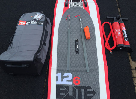 RED Paddle Elite 12'6""