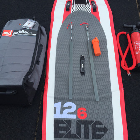 "RED Paddle Elite 12'6"""
